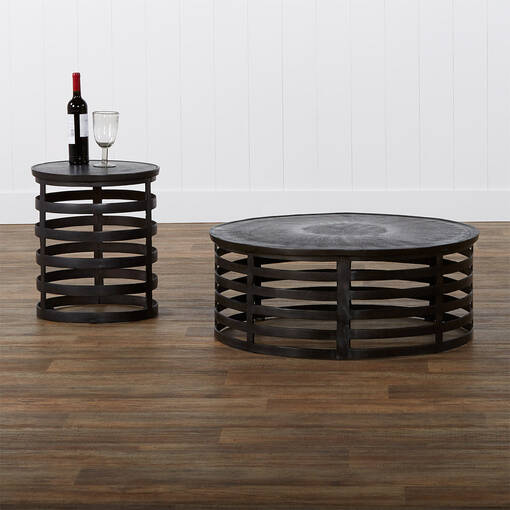 Table d'appoint Hector -bronze vieilli