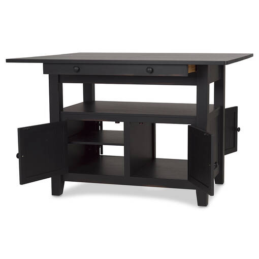 Cantina Ext Counter Table -Prairie Black