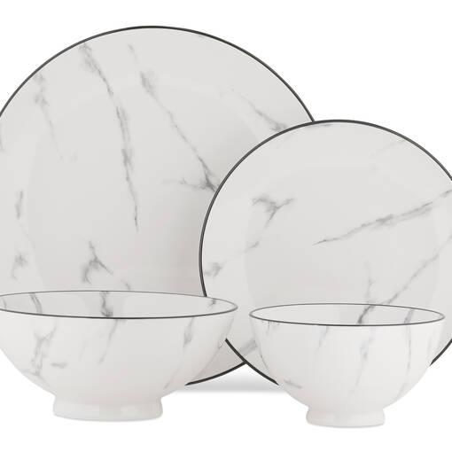 Service de vaisselle Carrara 16 pièces