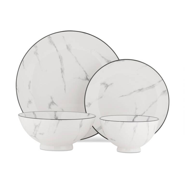 Carrara 16 pc Dish Set