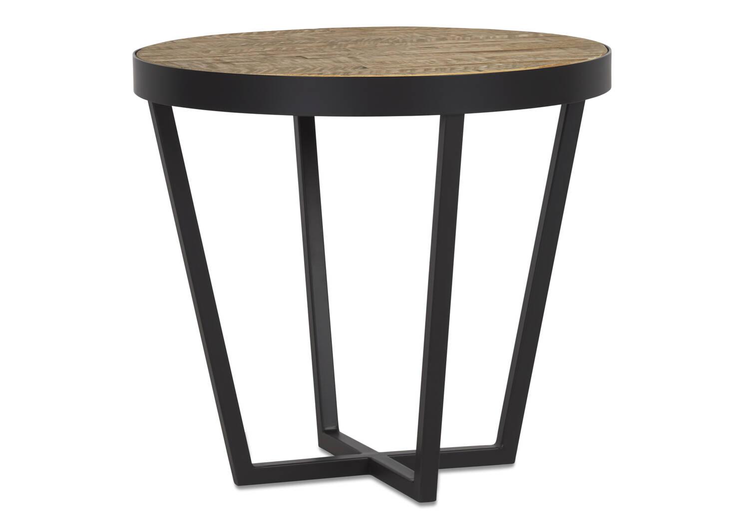 Orsen Side Table -Aspen Oak