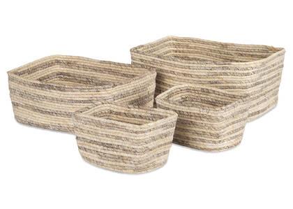 Isidora Basket Set Seagrass