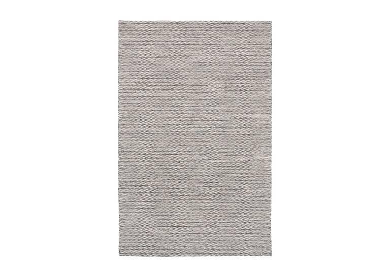 Grant Rug 96x120 Grey/White