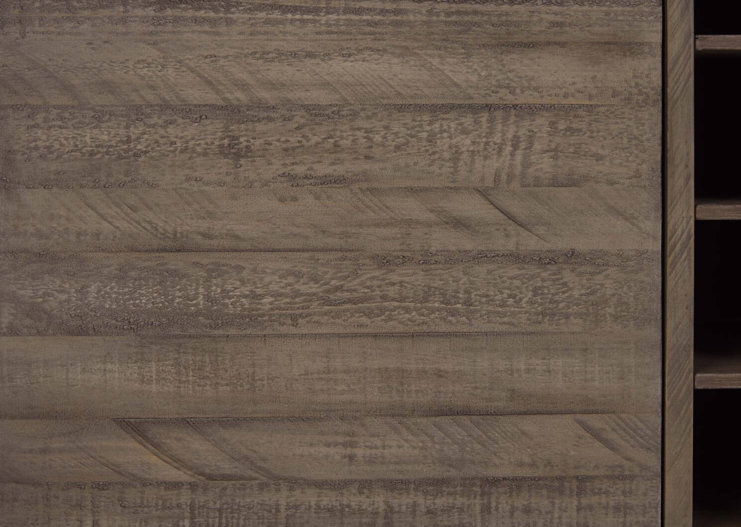 Brody Wine Cabinet -Stanton Driftwood