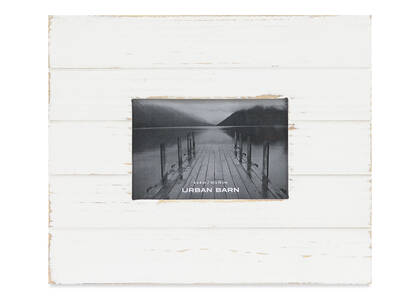 Calman Frame 4x6 White
