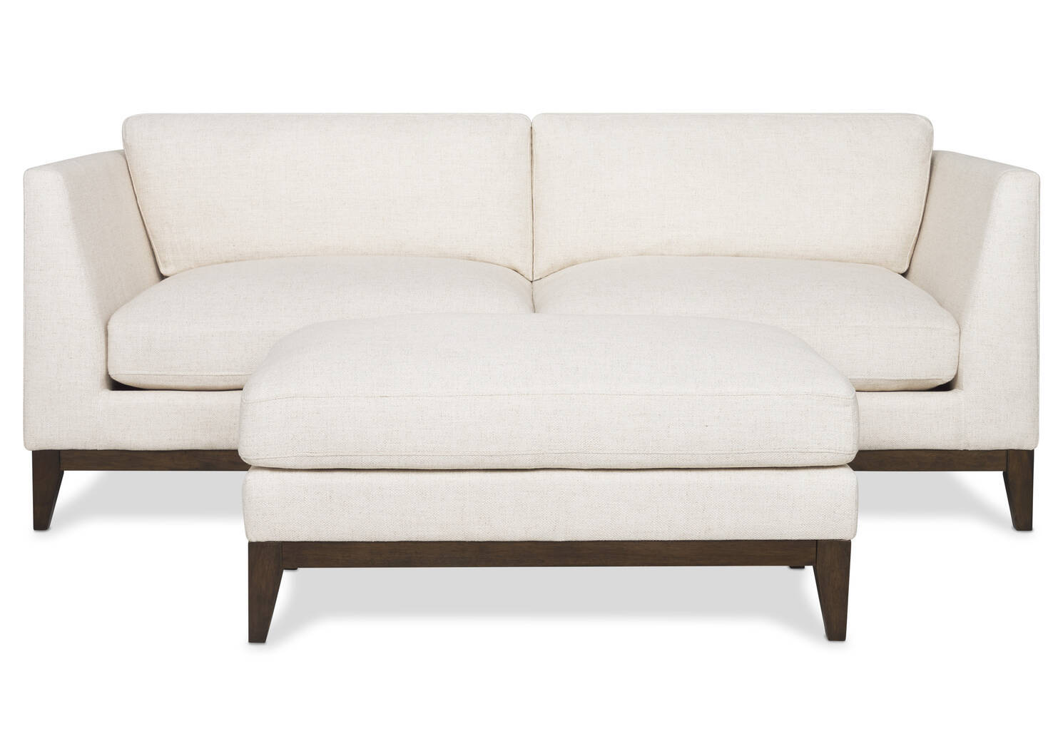 Hartley Sofa -Zeile Flax