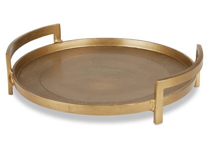 Damara Tray Gold