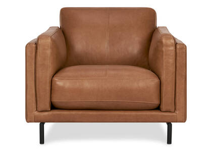 Renfrew Leather Armchair -Adler Tan