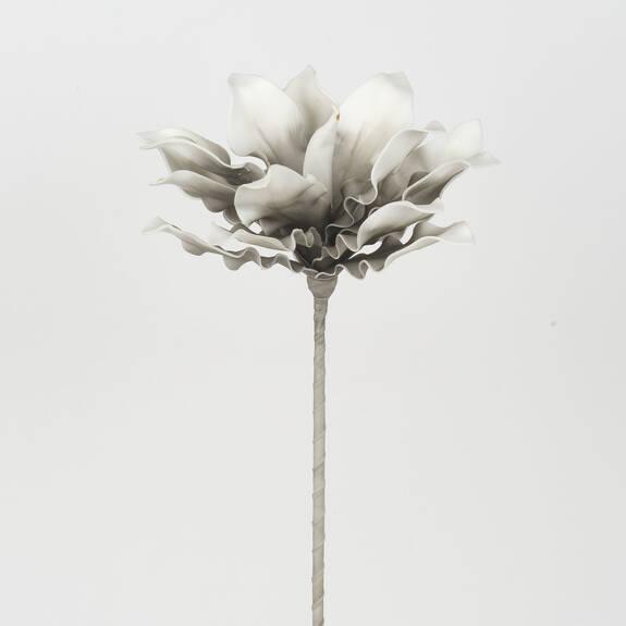 Fleur Mojave gris/blanc
