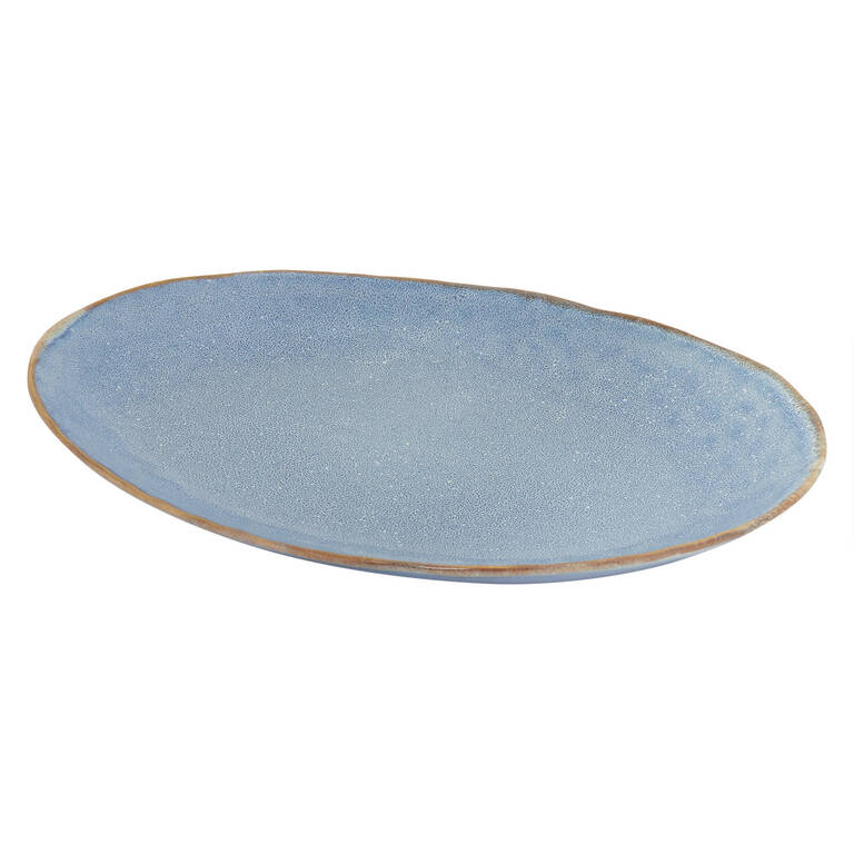 Crofton Serving Platter Blue