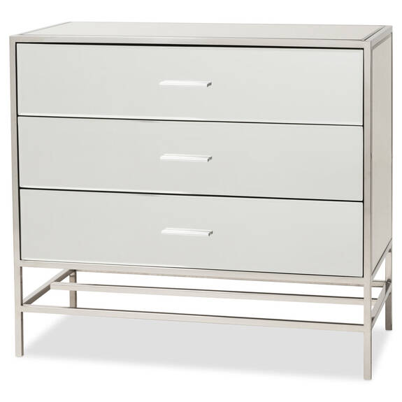 Marilyn 3 Drawer Chest -Mirror