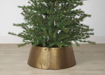 Heath Tree Collar Ant Brass