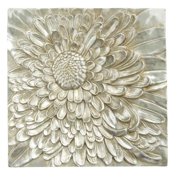 Petalis Small Wall Tile Silver