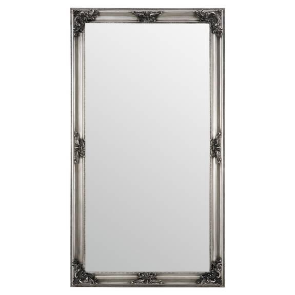 Presley Floor Mirror Silver