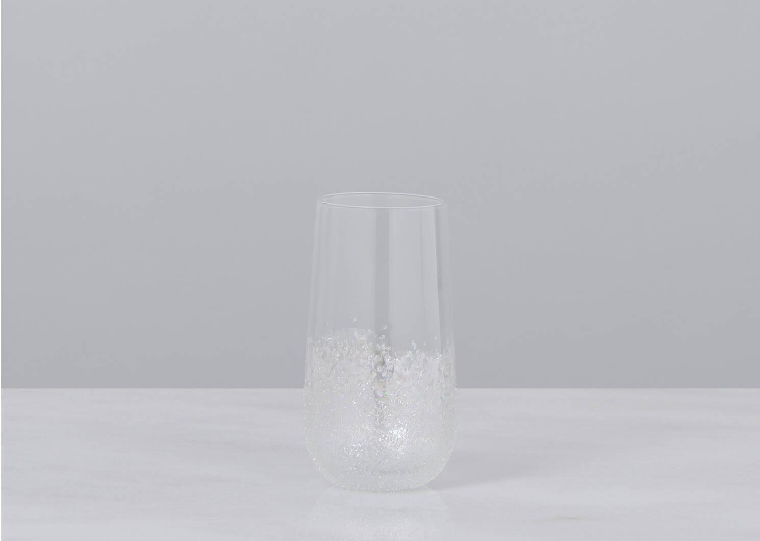 Bliss Highball Glass Iridescent
