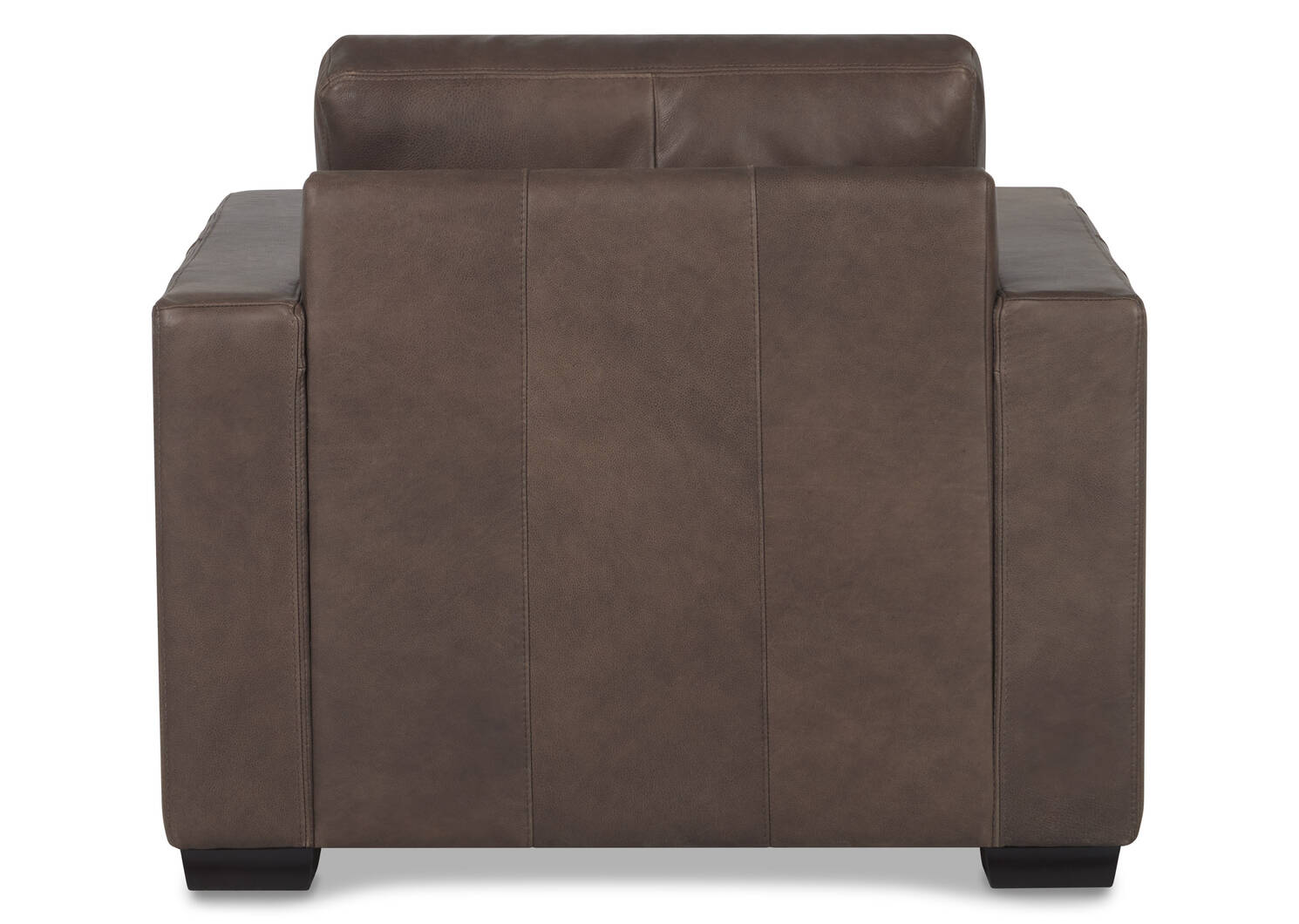 Brewer Leather Armchair -Attica Cocoa