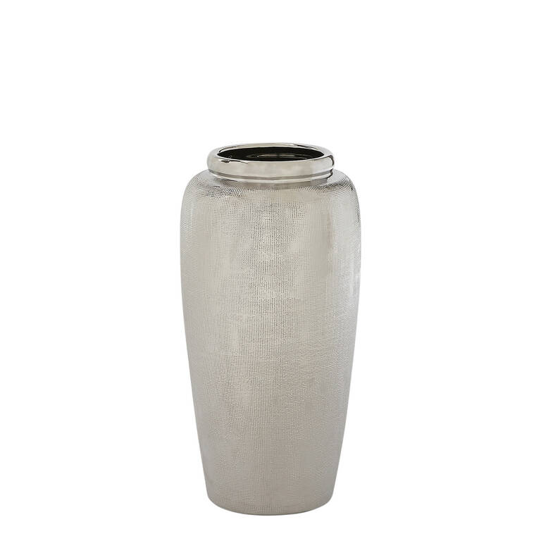 Cleo Vase Small Silver