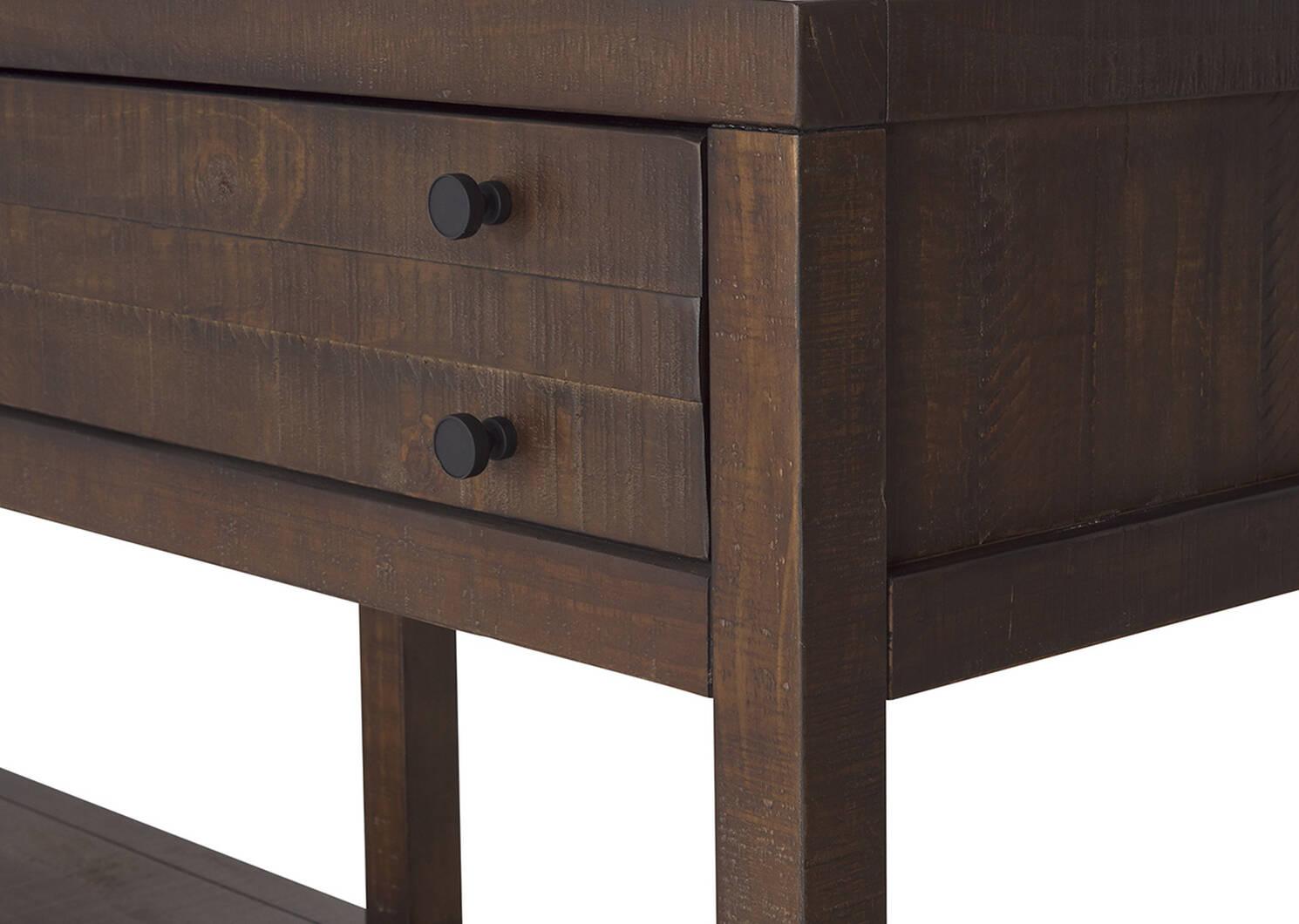 Lynncroft Console Table -Wyatt Sable