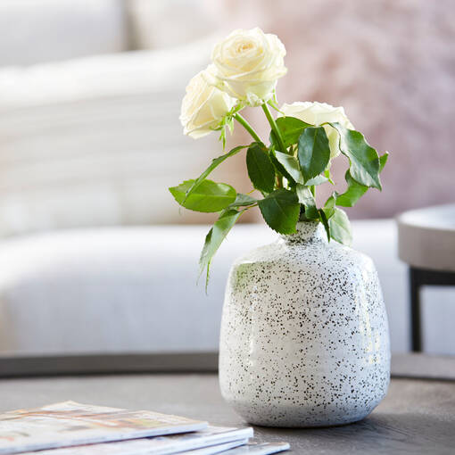Gwyn Vase Large White