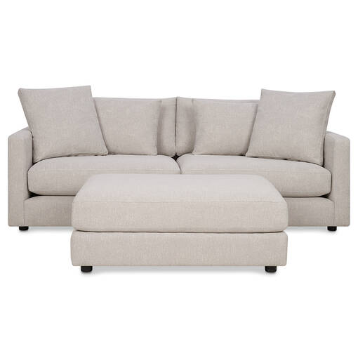 Berg Sofa -Aiden Platinum