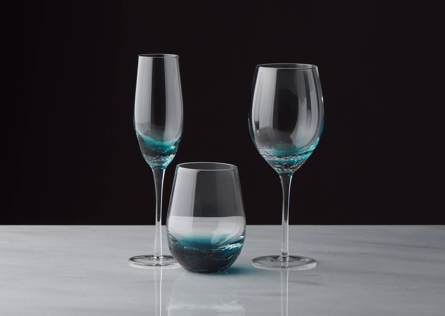 Lively Wine Glass Teal