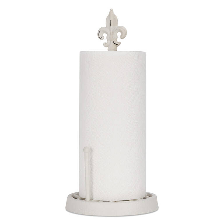 Olivia Paper Towel Holder White
