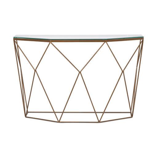 Stella Console Table -Brass