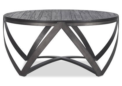 Table basse Argyle -Reviv charbon