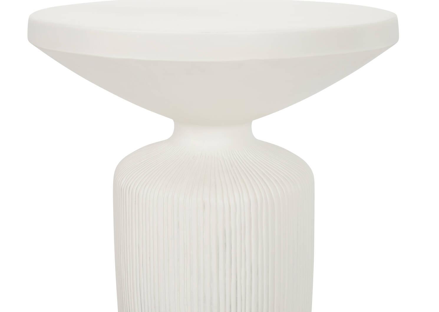 Lahaina Side Table -Coconut