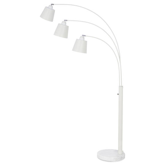 Oliver Floor Lamp White