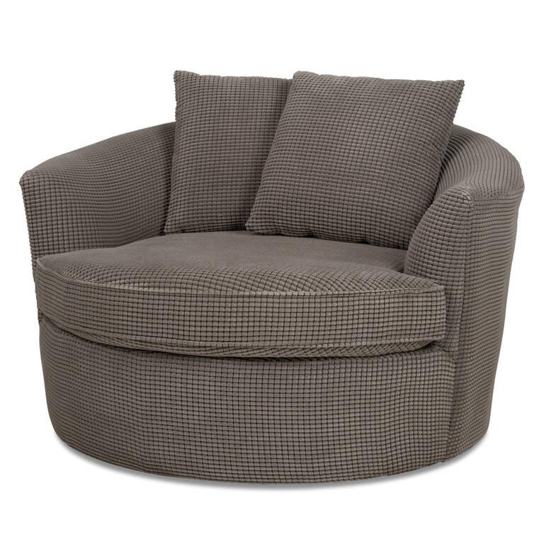 Globe Chair -Bumps Charcoal