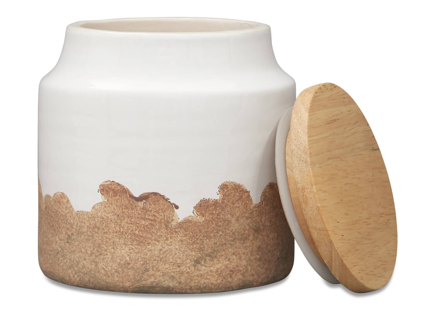 Petit bocal Vanna lait/naturel