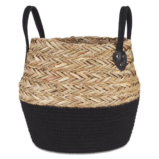 Racquel Baskets Natural/Black