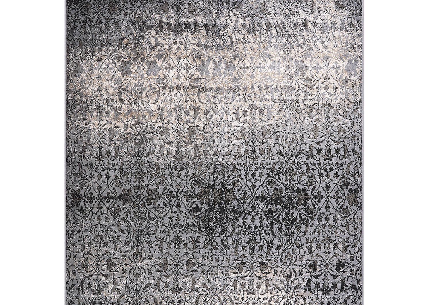 Rousseau Rug 79x118 Grey/Black