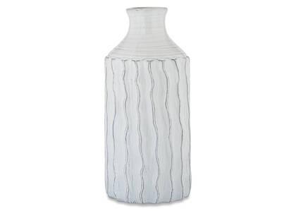 Theros Vase Large White/Black