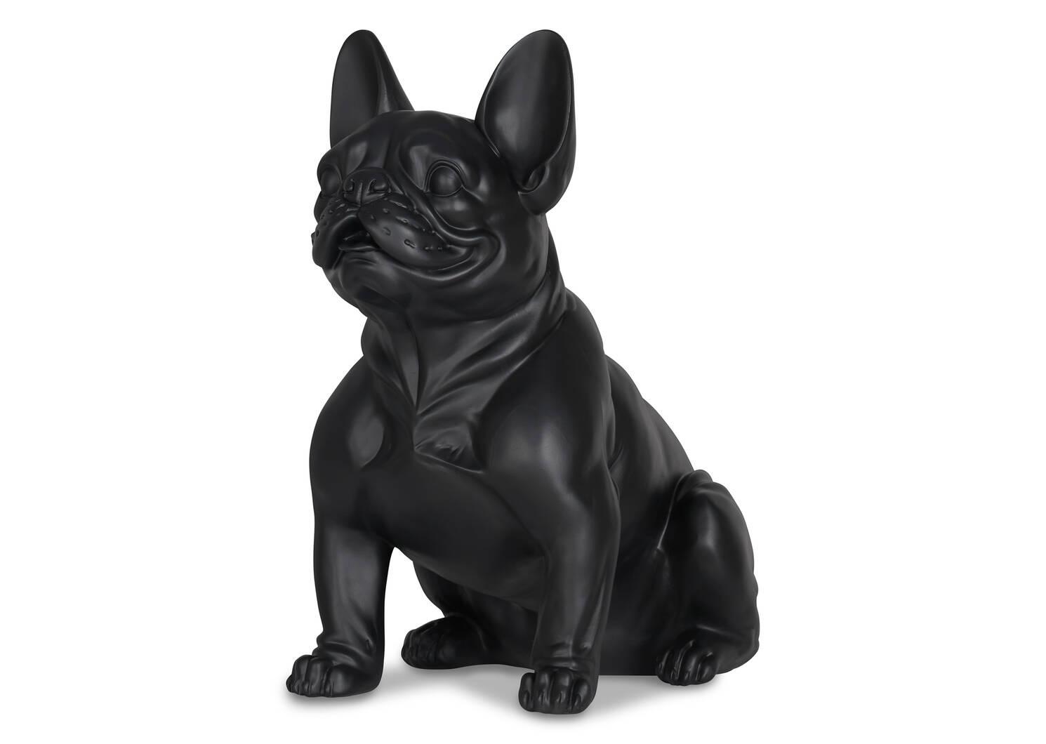 Ripley French Bulldog Statue Black
