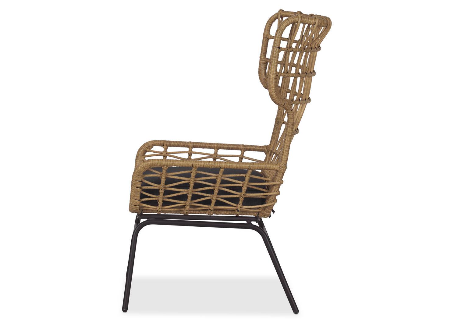 Chaise naturelle Wren -Ari carbone