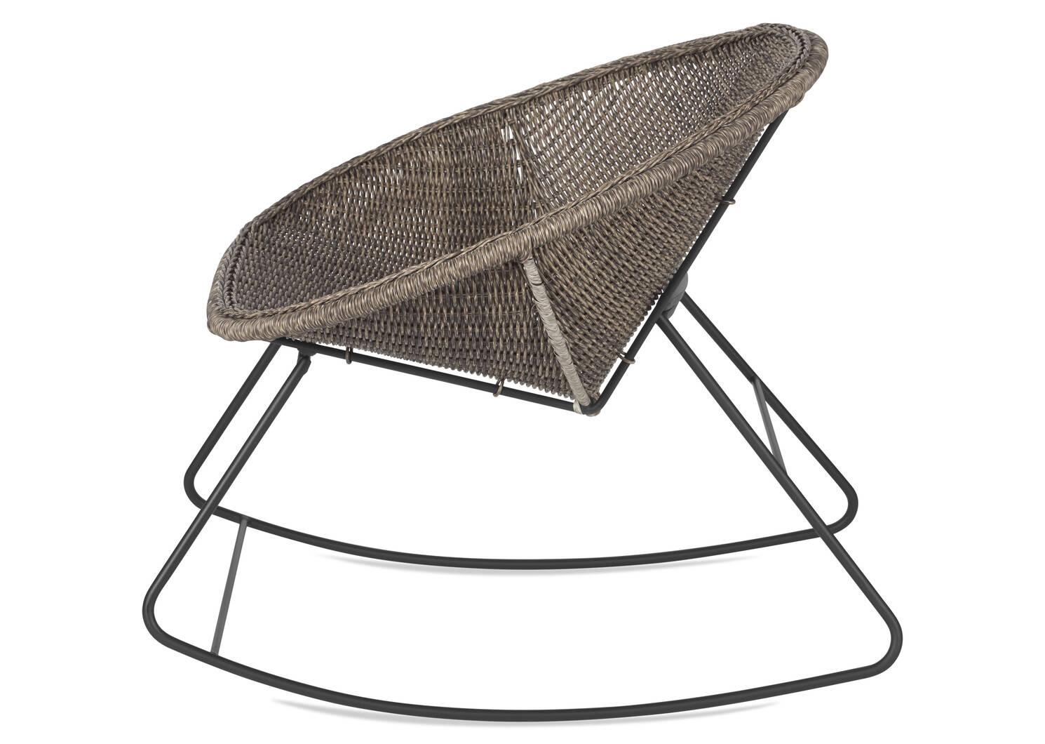 Vireo Rocking Chair -Grey