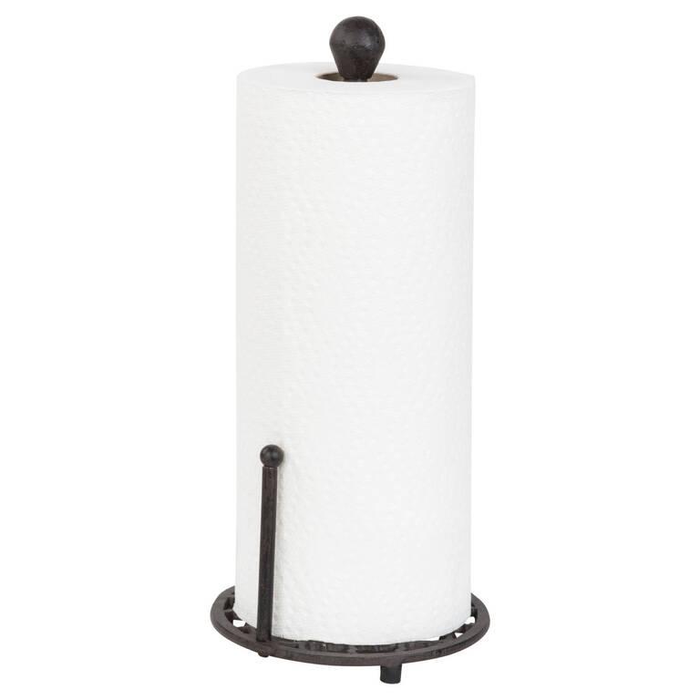 Treillage Paper Towel Holder Iron