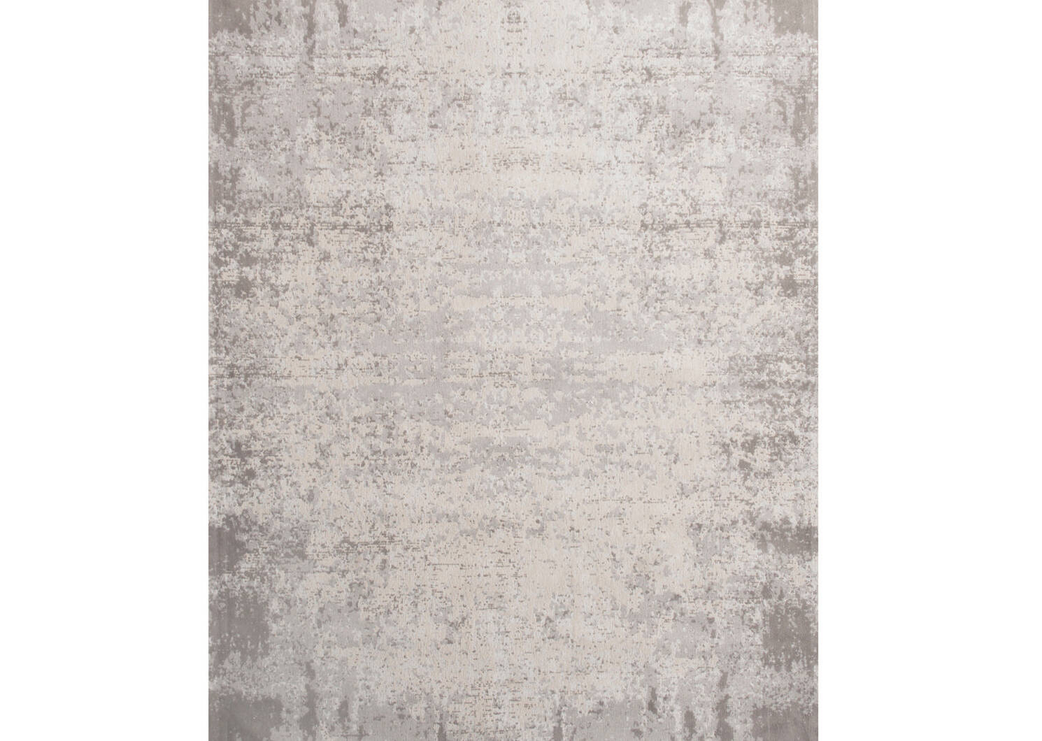 Tapis Vares 96x135 gris/argenté