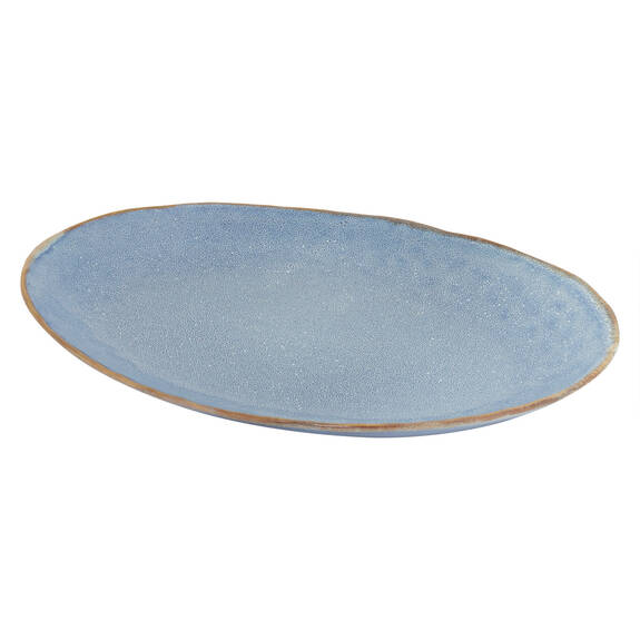 Crofton Serving Platter Blue