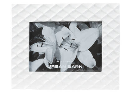 Cadre Kiara 5x7 blanc