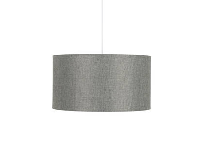 Camila Drum Pendant Grey