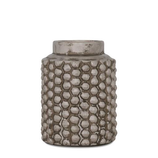 Bessie Vase Small Silver