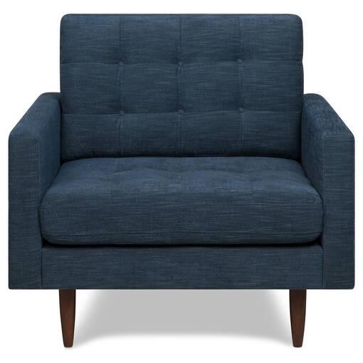 Bloor Armchair -Mylo Ocean