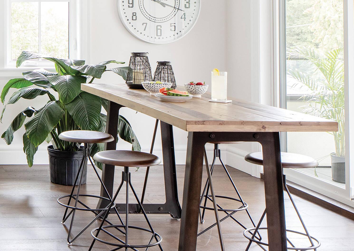 Table comptoir Distillery -pin d'artisan