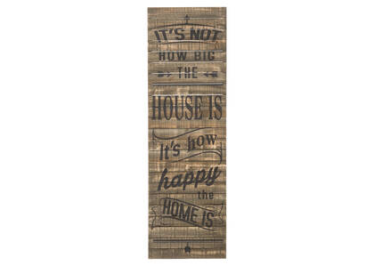 How Happy Wall Plaque