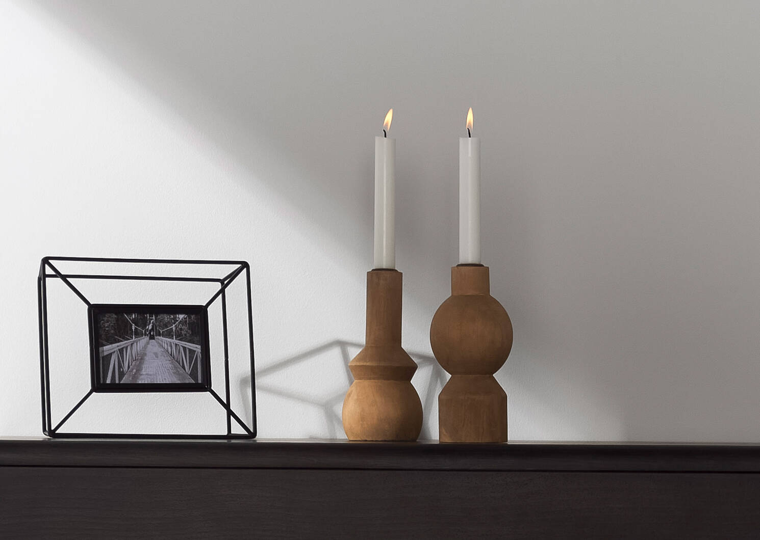 Cecilia Frame 3x5 Black