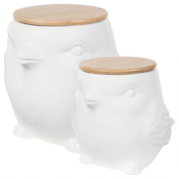 Henni Canisters - White