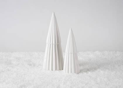 Arbres décoratifs Neige blancs